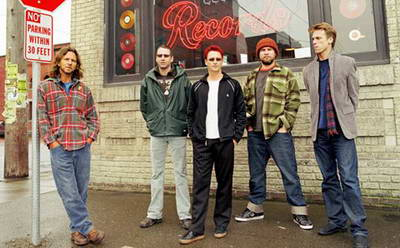 Pearl Jam and flannel shirts