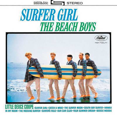 "Cover album The Beach Boys, ""Surger Girl"""