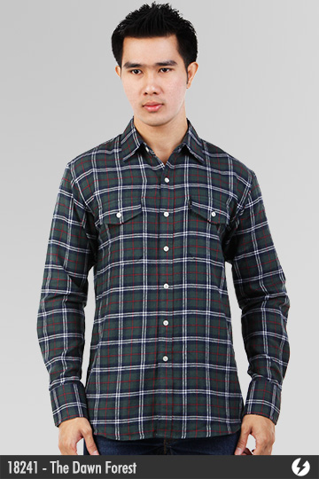 Flannel Shirt - The Dawn Forest - 18241