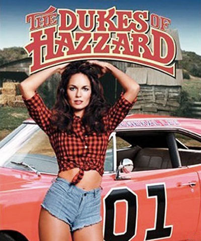Catherine Bach in Dukes Of Hazzard