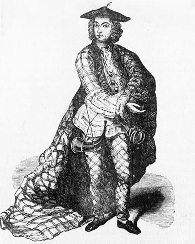 Prince Charles Edward In Highland Costume