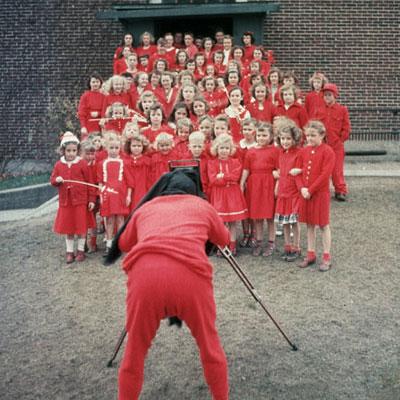 Red Flannel Day In Cedar Springs Michigan 1936