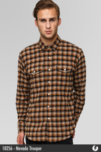 Kemeja Flannel - Nevada Trooper - 18256