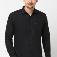 Plain Black 1 Pocket