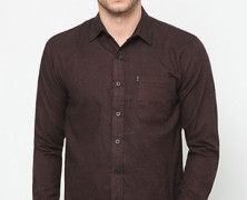 Plain Brown 1 Pocket