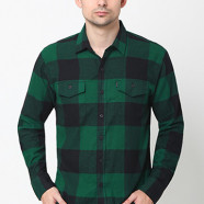 Greenwood Plaid Black