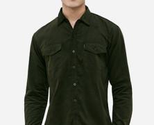 Corduroy Dark Green