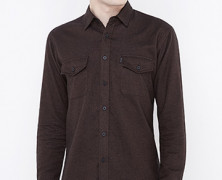 Flannel Plain Brown