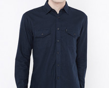 Flannel Plain Navy