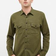 Plain Olive Green