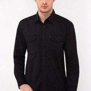 Cotton Plain Black