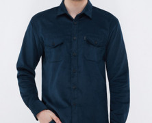 Corduroy Navy Blues