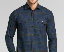 TRVS Flanel IV Blue Green
