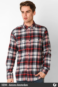 Flannel Shirt - Autumn Amsterdam - 18244
